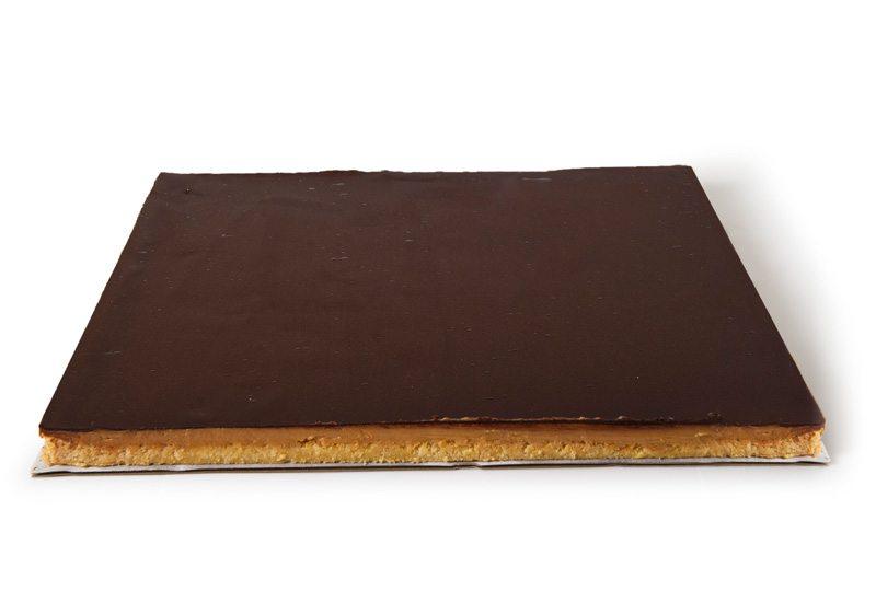 Caramel Slab Cake