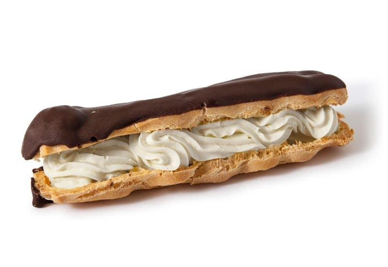 Chocolate Éclair Mock Cream