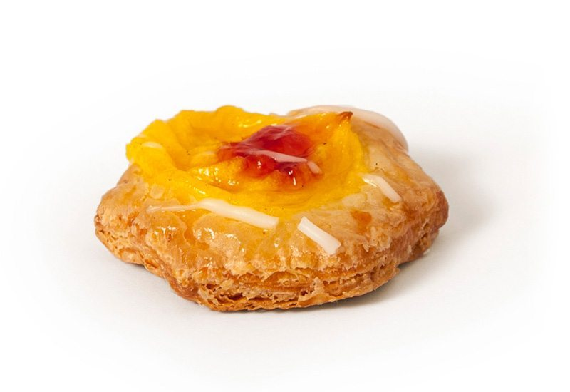 Mini Jam and Custard Danish