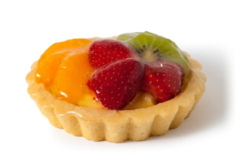 Mixed Fruit Tart (individual)