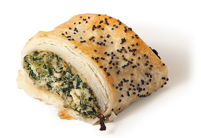 Party Spinach and Ricotta Roll