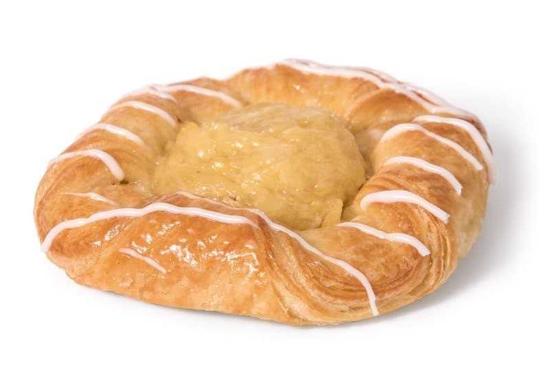 Large Crushed Pineapple Danish