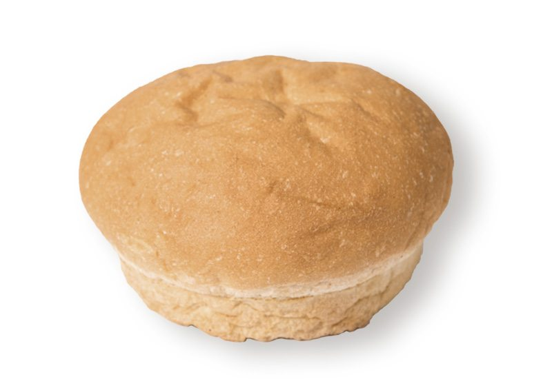 White Hamburger Bun (no seed)