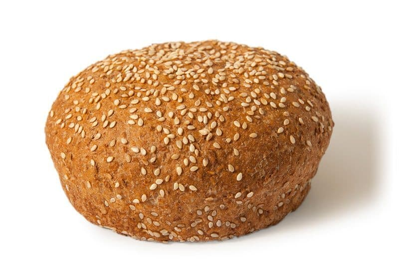 Wholemeal Hamburger Bun