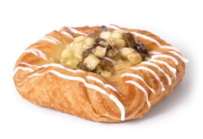 Large Apple and Sultana Danish
