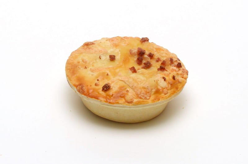 Steak Bacon and Cheese Pie