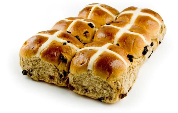 wholesale hot cross buns perth