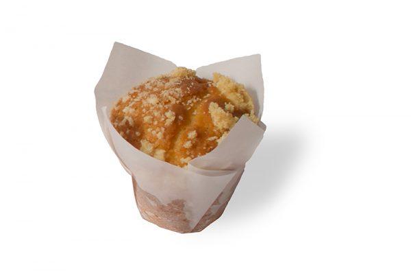 lemon crumble mini muffin